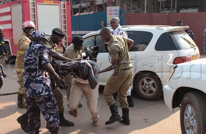 olice arrest one of the supporters