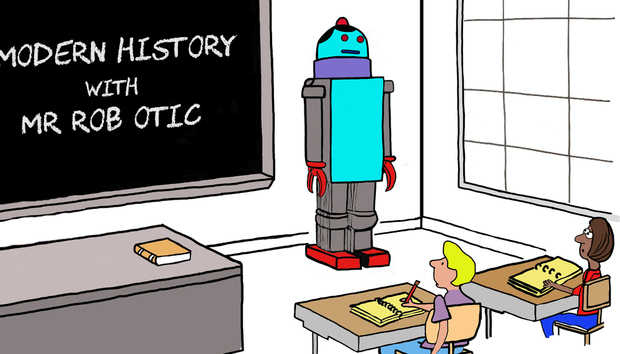 robot-teacher