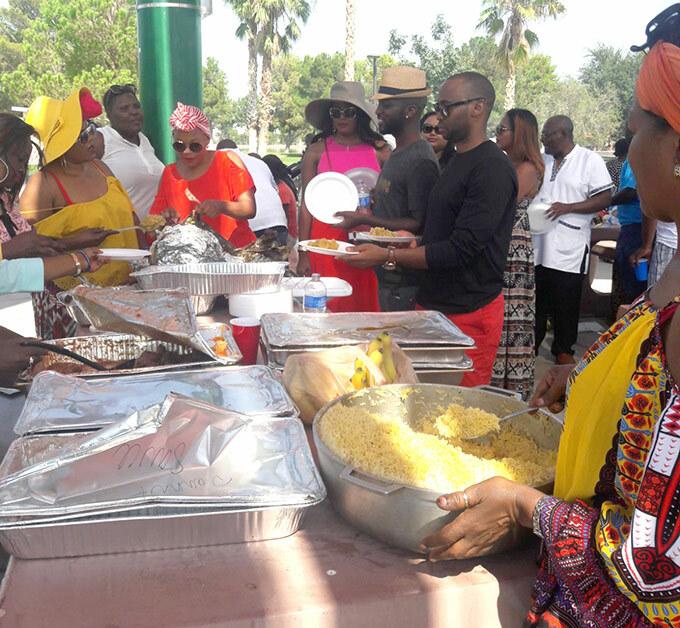 auses taste of ganda was one of ganda estival 2017 activities in as egas in evada