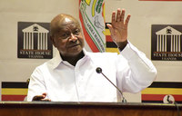 Museveni asks African Bishops to help address low productivity