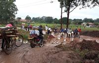 Boda boda cyclists reap from bad roads