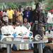Hoima diocese pilgrims approach Kampala