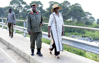 Museveni visits Bundibugyo to assess security situation
