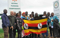 Ugandan farmers enjoy agricultural trade expo in Ireland