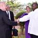 Museveni meets Bridgin Foundation team