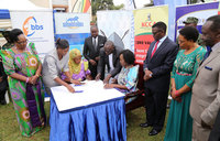 KCCA, Buganda sign clean city pact