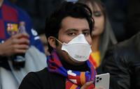 Coronavirus: Fans banned from Barca v Napoli tie