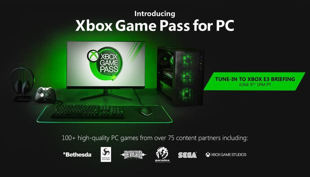Microsoft's fantastic Xbox Game Pass subscription service is coming to the PC