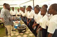Uganda Martyrs University career fair excites students