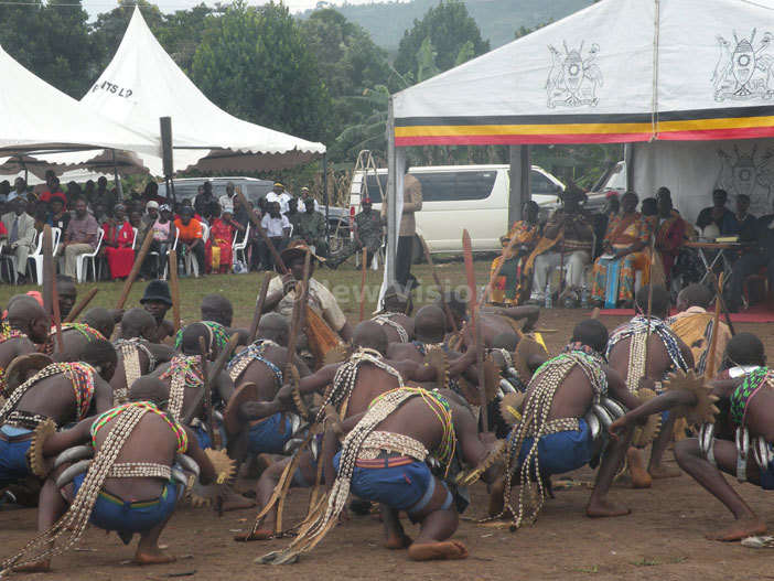 mbalu candidates perform dances for guests at utoto in 2014
