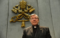 Cardinal Pell back in Australia to face abuse charges