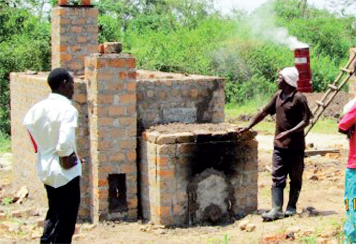 n improved retort kiln is one of the new green charcoal technologies in amuli
