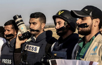 Palestinian journalist shot at Gaza protest dies of wounds: family