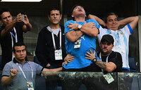Concern over Maradona after health scare in Argentina thriller