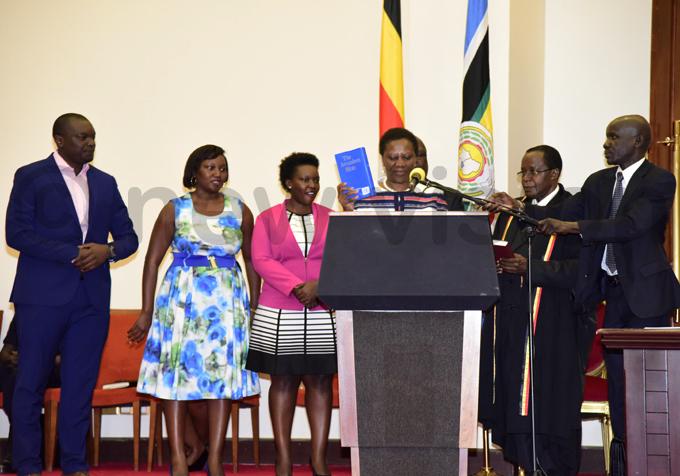 nergy minister rene uloni is sworn in