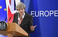 Poll dive hits British PM's election battle