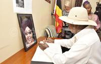 Museveni pays tribute to Winnie Mandela