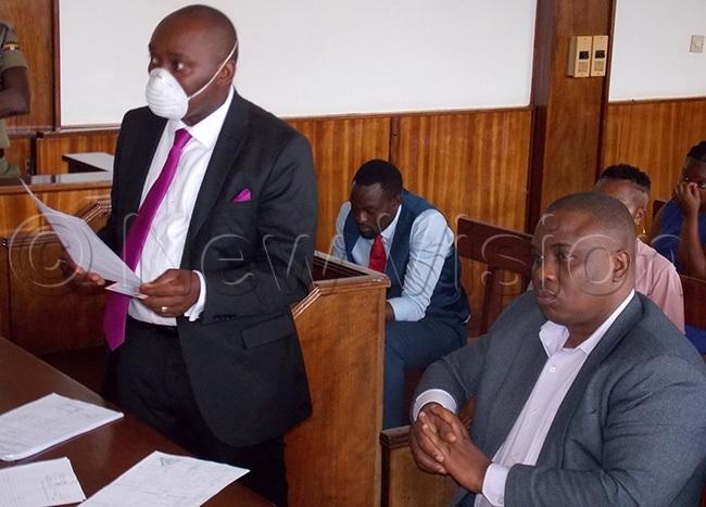 awyer edard seggona defending his clients in court