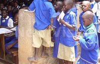 Sh5000 weekly test fee chasing  away pupils from UPE schools
