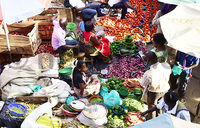 Inflation eases as food prices drop