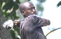 Kitata takes a shot at the Muthaiga Golf Open