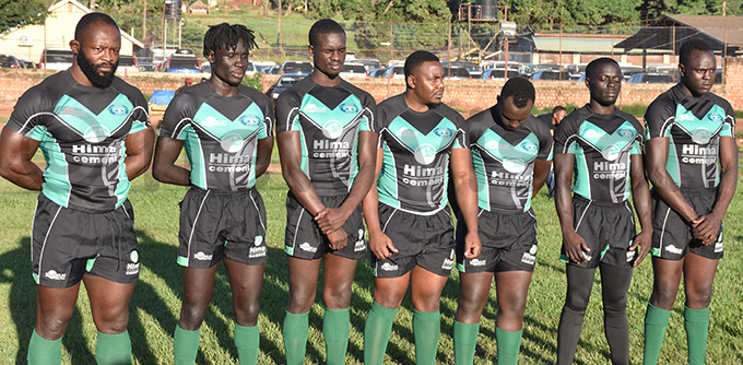 eathens new signings at their unveiling at yadondo ugby rounds hoto by ohnson ere