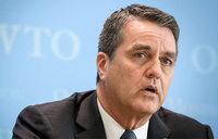 WTO chief expected to step down, as global economic crisis rages