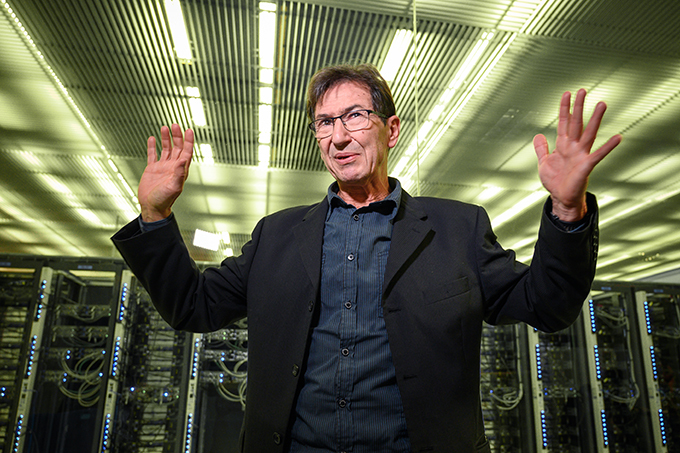computer scientist rancois luckiger  hoto