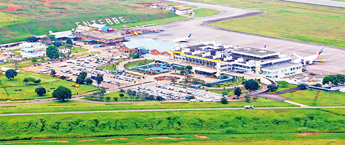 n 1947 ntebbe was identified as the most suitable location for gandas airport as it provided easy navigation services across the ake ictoria
