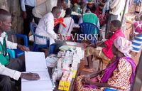 Hundreds at Busana landing site get free treatment