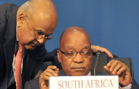 S.Africa ruling party to consider finance minister's fate