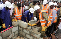 Contractors, consultant in sh684m Police housing project row