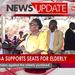 Kadaga supports seats for elderly