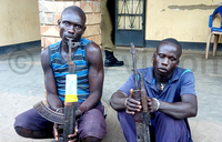 Two arrested as Police recovers guns, ammunition in Arua