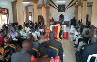 Busoga Lukiiko pays tribute to Bishop Bamwoze