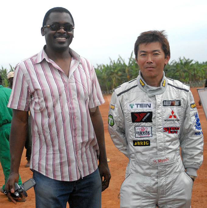 ally drivers harlie ubega left and apans iyoshi ideaki at ubiri 1342007