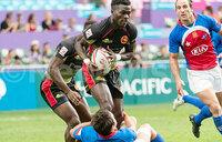 Uganda scrapes through day one of 7s qualifiers