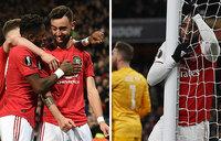 Europa League: Man Utd advance, Arsenal knocked out
