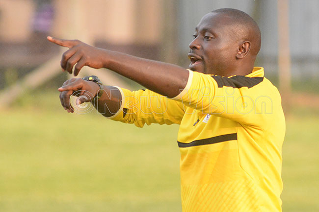 roline  oach nthony ongole won his first match when full in charge