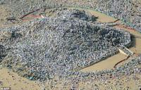 Muslim pilgrims climb Mount Arafat for peak of hajj