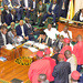 House on fire as Kadaga suspends 6 opposition MPs