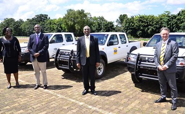 ganda donated vehicles
