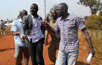 Walukuba west resident sprayed with tear gas as new speaker sworn- in