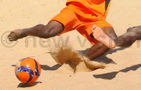 Isabet beats Stomers 4-2 to top beach soccer league