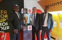 FIFA World Cup trophy arrives in Uganda