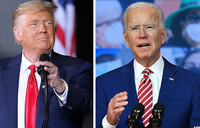 Trump intensifies campaign, Biden hammers him on COVID-19