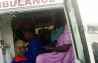 Ambulance driver arrested ferrying passengers