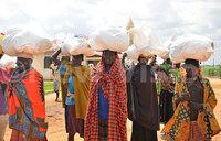 Food relief for Karamoja families