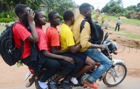 Transport fares hiked as students return home.