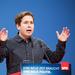German leftist rebels fight to sink Merkel power pact